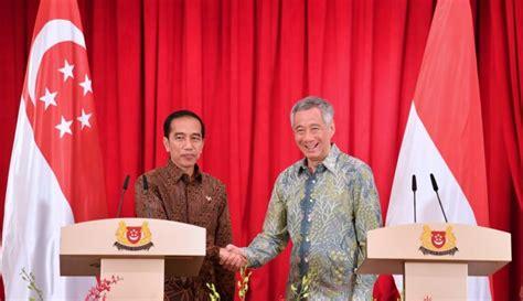 Lekatnya Hubungan Internasional Indonesia dengan Singapura ...