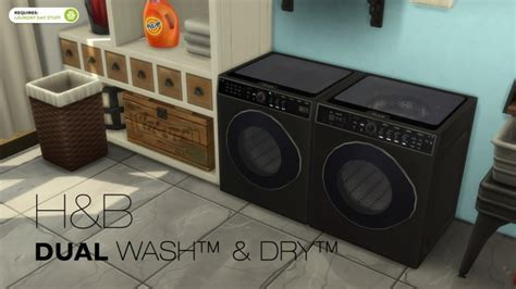 DualWash DualDry by littledica at Mod The Sims » Sims 4