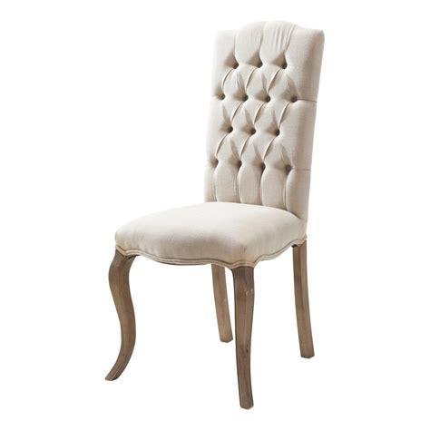 chaise capitonné chaise capitonnee salle manger