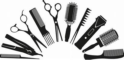 Hairdresser Clipart Comb Drawing Transparent Parlour Salon