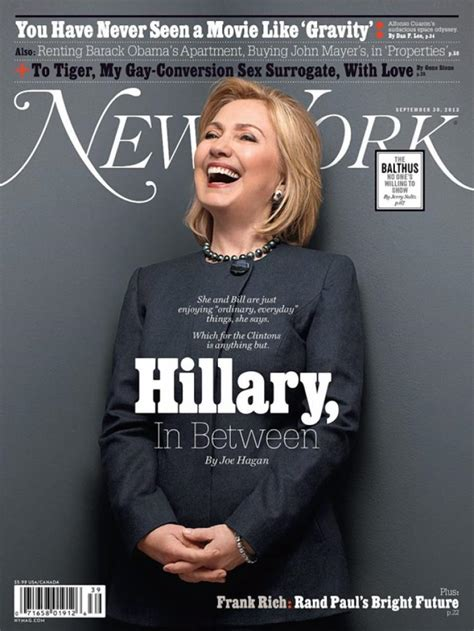 Hillary Clinton Cover by Hillary Clinton Running For Prez In 2016 Friends Say Ny