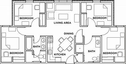 Floor Plans Housing Bedroom Bathroom Plan Apartment