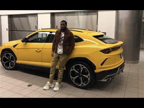 meek mill  rapper  buy  lamborgini trucks spends