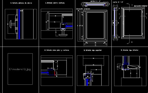 wooden window dwg detail for autocad designs cad