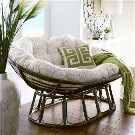papasan double brown chair frame pier 1 imports