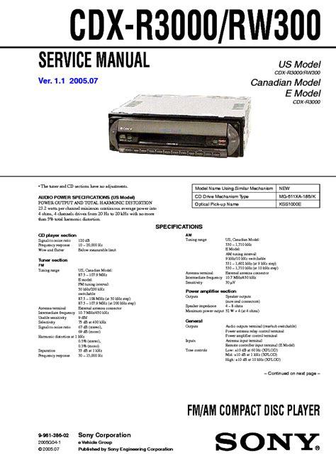 sony cdx m600 wiring diagram sony cdx m610 wiring diagram