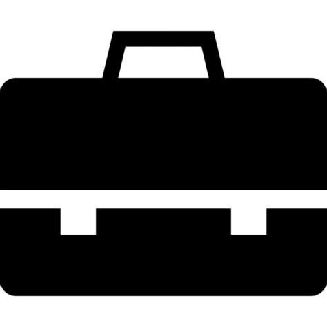 black briefcase icon briefcase black tool icons free