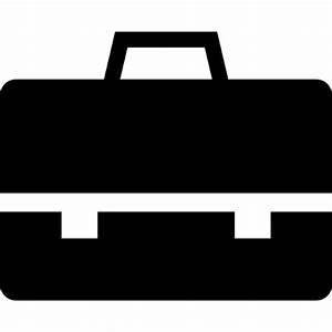 Briefcase black tool Icons | Free Download