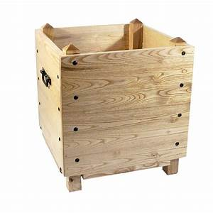 Bac En Bois Pour Potager : pied sapin de no l carr et bois naturel ~ Dailycaller-alerts.com Idées de Décoration