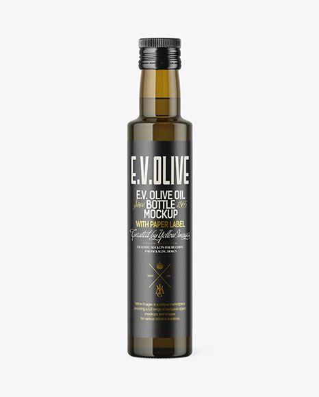 Olive oil and vinegar glass cruet dispenser funnel glassware bottle pourer. 250ml Antique Green Glass Olive Oil Bottle Mockup ...