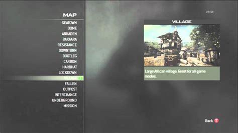 Mw3 game modes