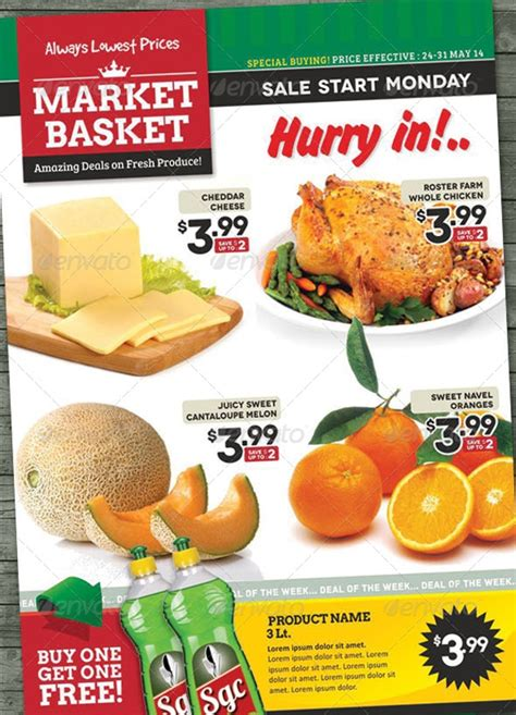 grocery flyer designs design trends premium
