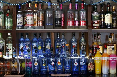 The booze we drink most: Here are top-selling liquor ...