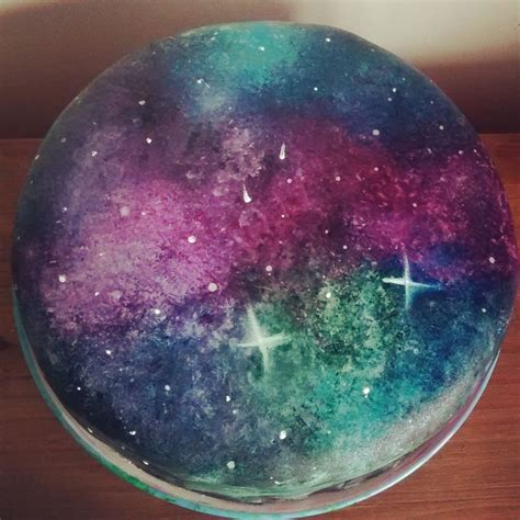 Image result for Galaxy cake