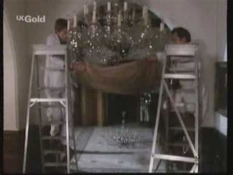 only fools and horses the chandelier smash