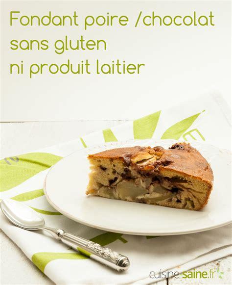 huile de coco cuisine gâteau poire chocolat sans gluten ni plv cuisine
