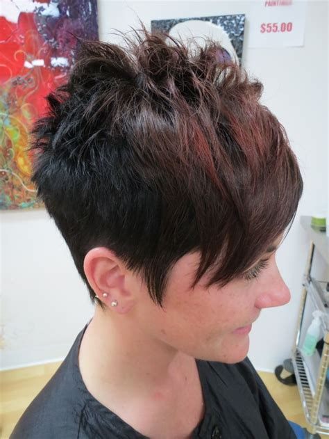 stylish haircuts for hair 342 best whispy and scruffy cuts images on 2537
