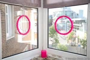 Fenster Sichtschutz Rausgucken by Diy Kr 228 Nze In Pink F 252 R Die Fenster For