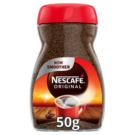 Nescafe Original Instant Coffee 50g   BB Foodservice