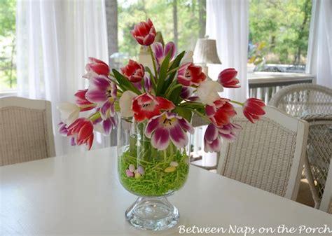creative centerpieces   spring  summer table