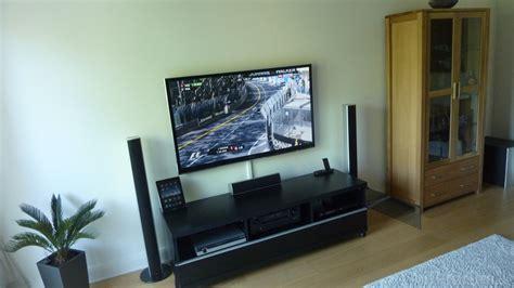 Fernseher Im Wohnzimmer by Fernseher Im Wohnzimmer Beamer Oder Fernseher Oder Beides