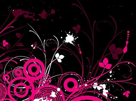 Black And Pink Background Black Pink Wallpaper Wallmaya