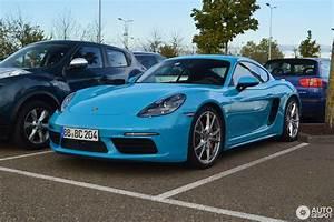 Porsche 718 Cayman Occasion : porsche 718 cayman s 8 october 2016 autogespot ~ Gottalentnigeria.com Avis de Voitures