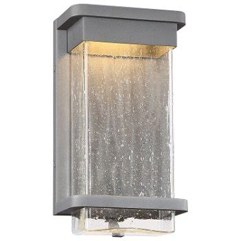 led wall sconce outdoor vitrine led indoor outdoor wall sconce by modern forms at