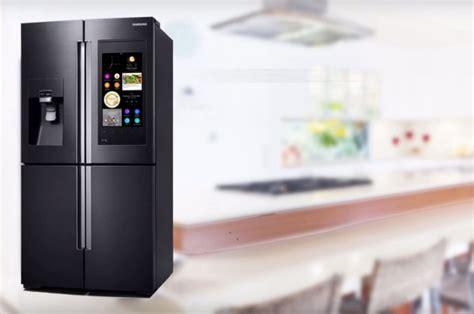 samsung cuisine refrigerateur samsung connecté table de cuisine