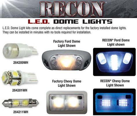 2004 2014 f150 svt raptor recon led dome lights 264165