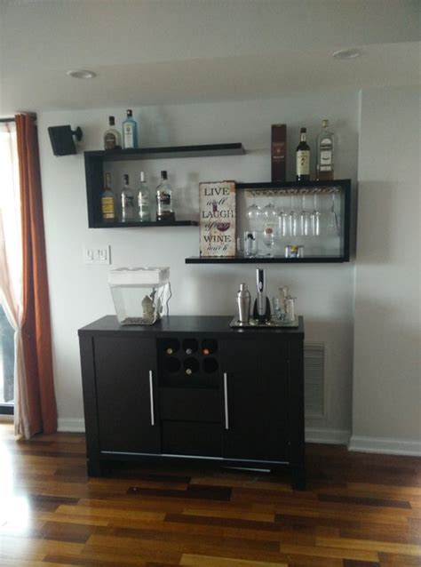 suggestions  arrangedecoration  floating bar shelves