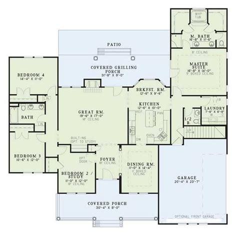 master bedroom plans with bath house plan 110 00381 traditional plan 2 261 square feet 19153   68ff7e51db5de3e788d0491cd03d5679