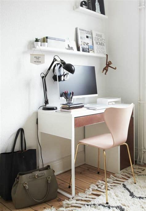 bureau ups comment décorer un bureau laqué blanc 61 photos