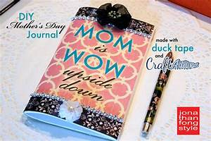 DIY Mother's Day Gift: Duck Tape Journal Plus Craft ...