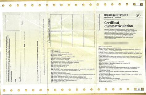duplicata carte grise scooter le certificat d immatriculation des automobiles ornikar