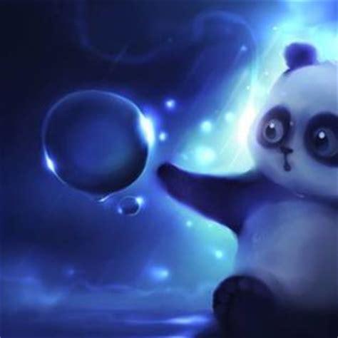 cute panda bear bubble  facebook cover emotions
