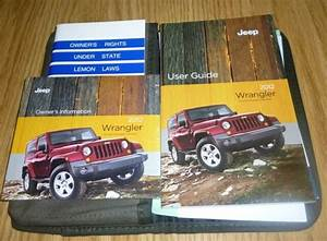 2012 Jeep Wrangler User Guide Owners Manual Set Dvd W  Case
