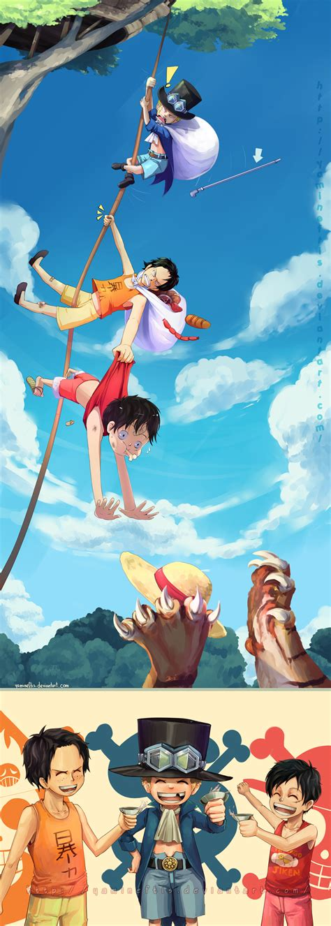 luffy brother ace op ace sabo luffy brothers