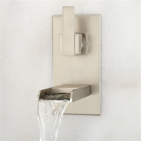 wall mount kitchen sink faucet willis wall mount bathroom waterfall faucet bathroom