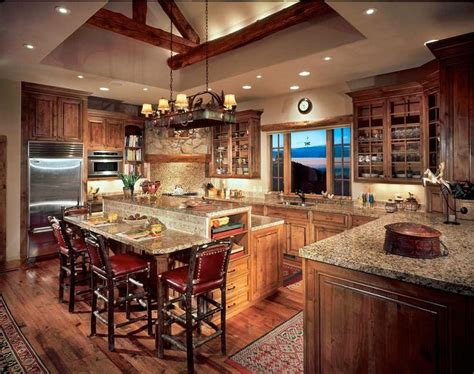 Best 25+ Log Cabin Kitchens Ideas On Pinterest