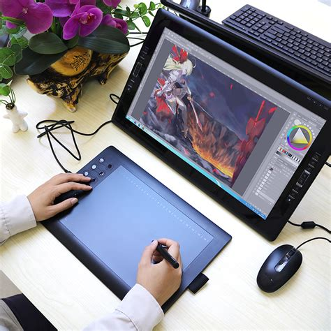 graphics drawing tablets usb  art digital draw tablet