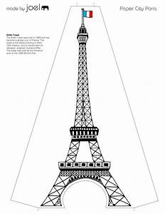 image gallery molde torre eiffel With eiffel tower model template