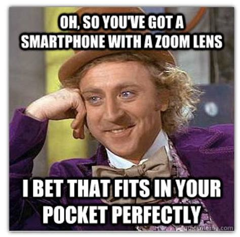 Galaxy Phone Meme - nokia posts funny condescending wonka meme to take a jab at samsung s s4 zoom again