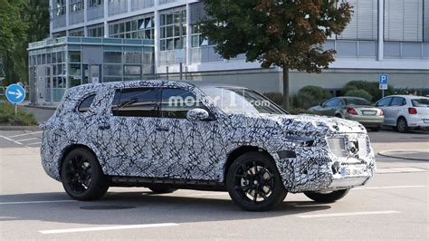 Mercedes Gls Class 2019 by 2019 Mercedes Gls Makes Photo Debut