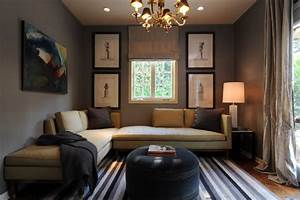 Sophisticated Den - Transitional - Family Room - new