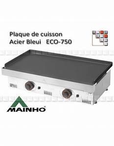 Plaque De Plancha Seule : plaque acier bleui pour plancha eco 500 750 1001 mainho ~ Dailycaller-alerts.com Idées de Décoration