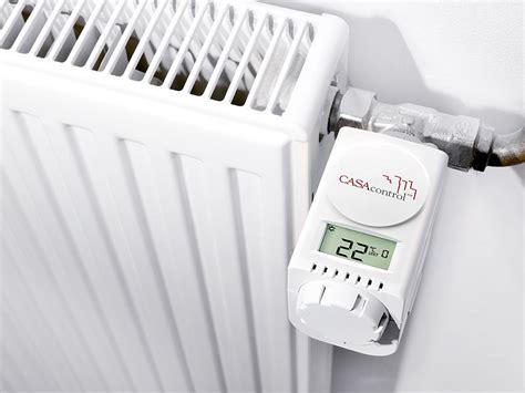 heizkörperthermostat per app steuern casacontrol smart home funk heizk 246 rperthermostat haus automatisierung