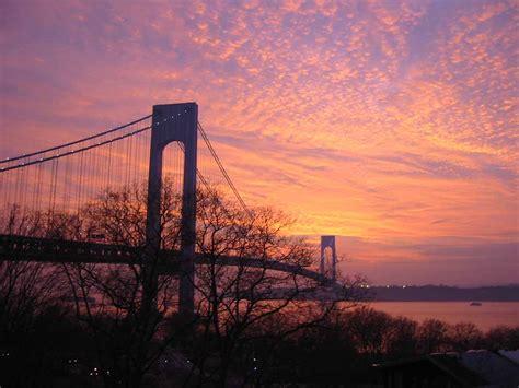 sunsets   verrazano bridge
