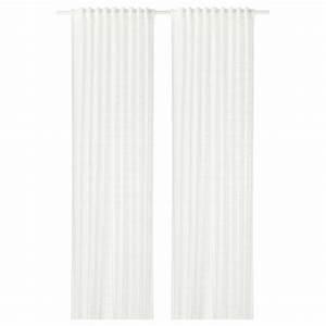 Rideaux Ikea Voilage : bergitte voilage 1 paire blanc 140 x 300 cm ikea ~ Teatrodelosmanantiales.com Idées de Décoration