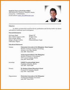 4 latest cv format sample ledger paper With formal resume format